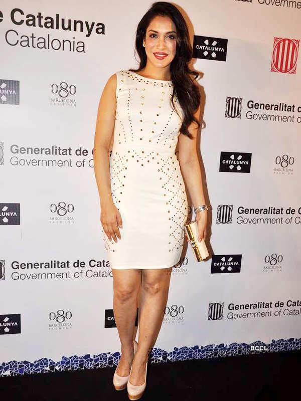 Celebs grace Spanish fashion show