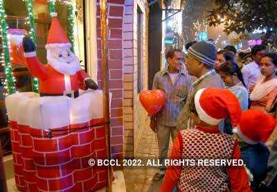 Christmas mood in Calcutta