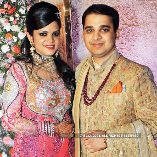 Rahul and Nidhi's wedding ceremony