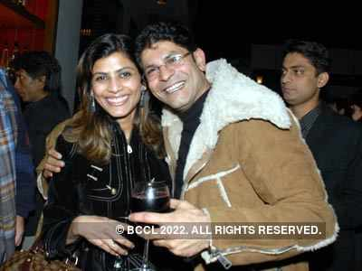 Rahul n Gunjan's bash at Bonsai