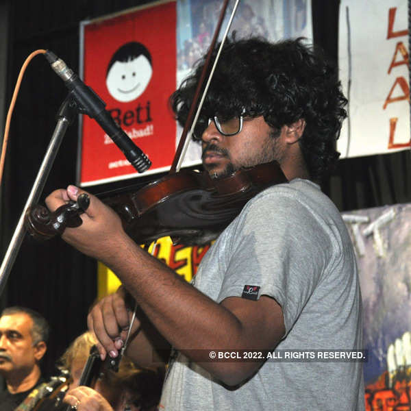 Pakistani band Laal performs