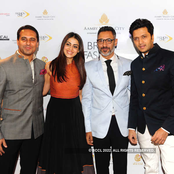 Celebs @ India Bridal Fashion Week '13