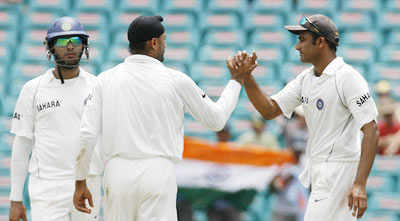 India v/s Aus final day