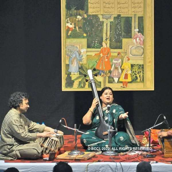 Shubha Mudgal performs in Bhopal