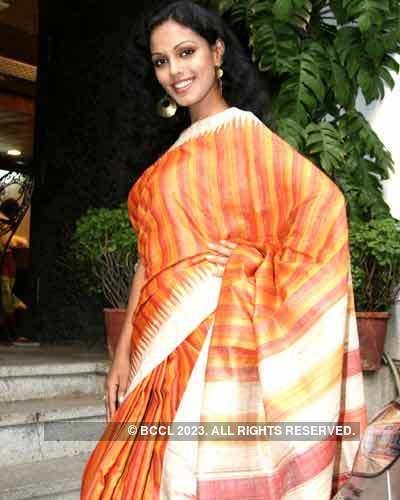 Ethnic saris