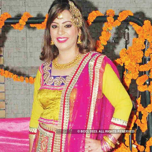 Anshna's sangeet ceremony