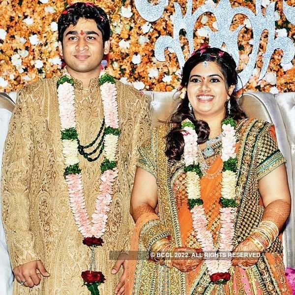 Sravan and Lakshmi's engagement ceremony