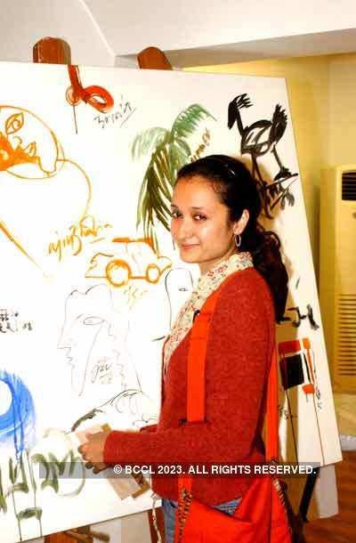 International painting workshop