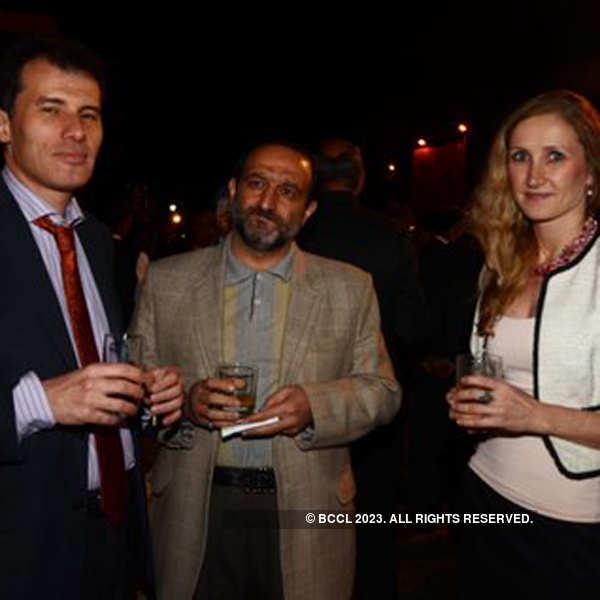 Salman Bashir's farewell party