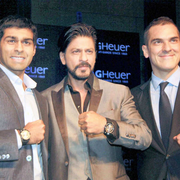 SRK @ TAG Heuer watch launch