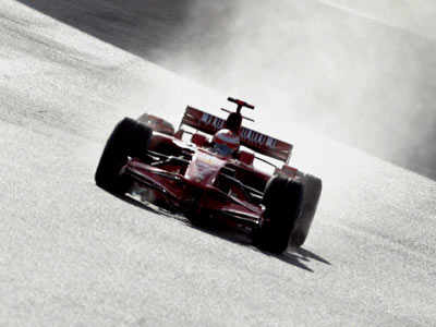 Ferrari F1 test session