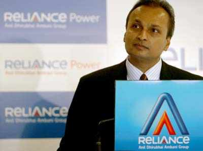 Anil Ambani at a press conference