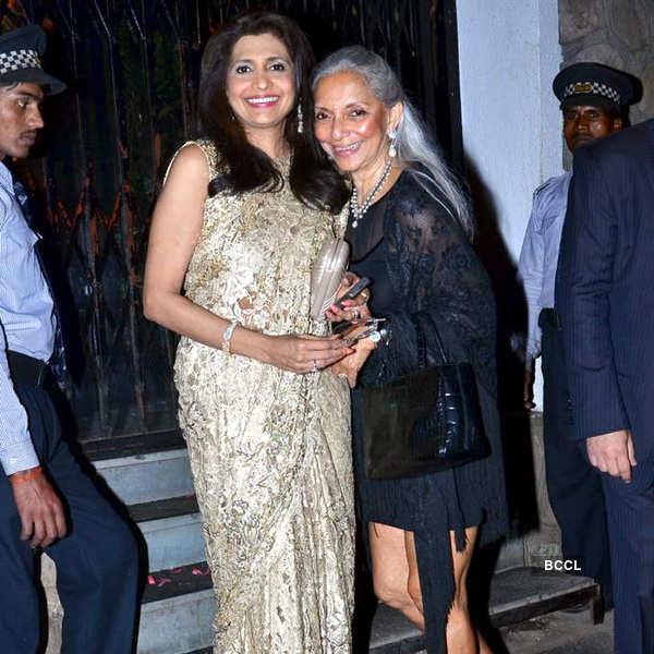 Queenie Singh's b'day party