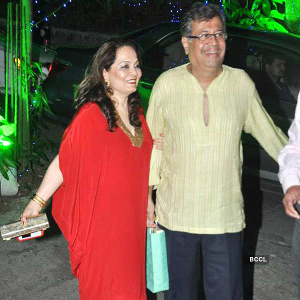 Dilip Kumar's b'day celebrations