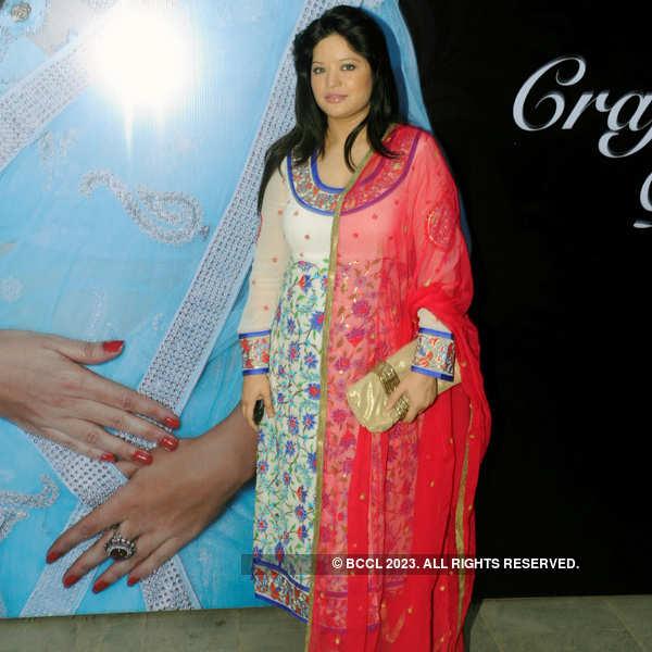 Shaina's jewellery launch