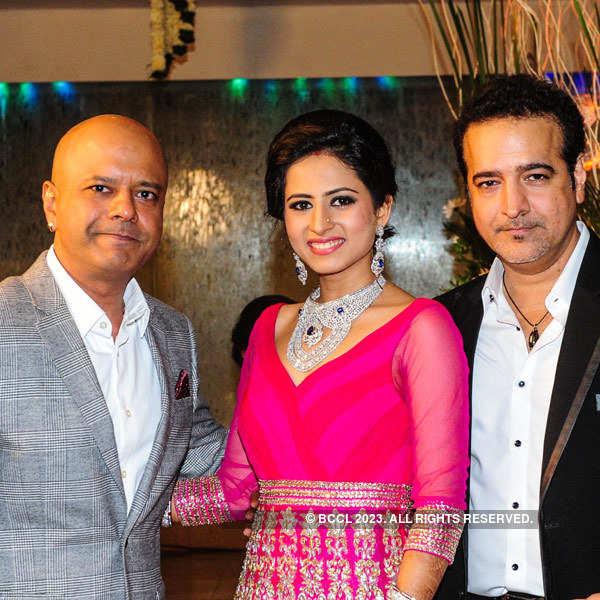 Sargun Mehta-Ravi Dubey's wedding reception