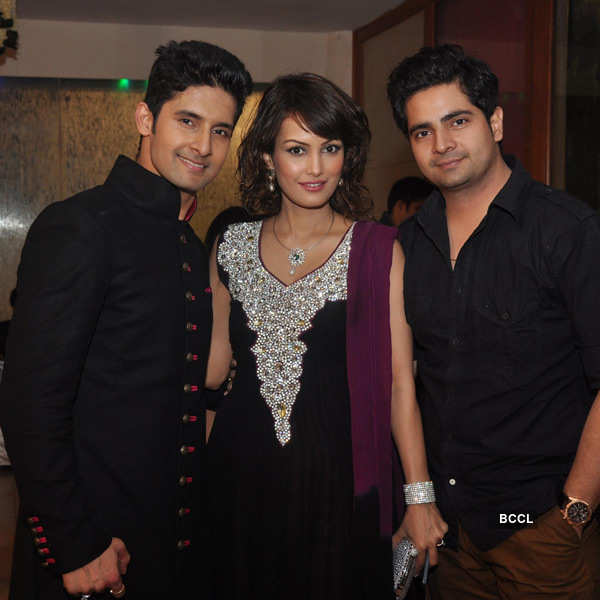 Sargun Mehta-Ravi Dubey's wedding reception