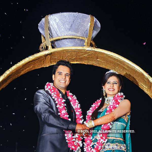 Sandeep Batra and Payal Jaiwani's sangeet