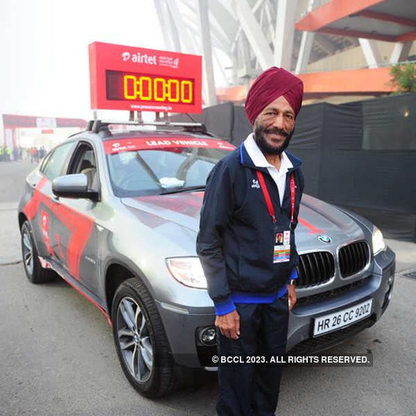 Airtel Delhi Half Marathon 2013