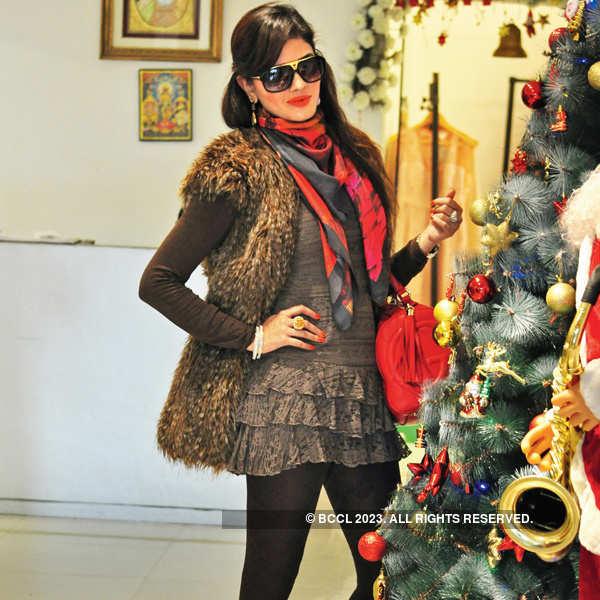 Ekta Dhingra's collection launch