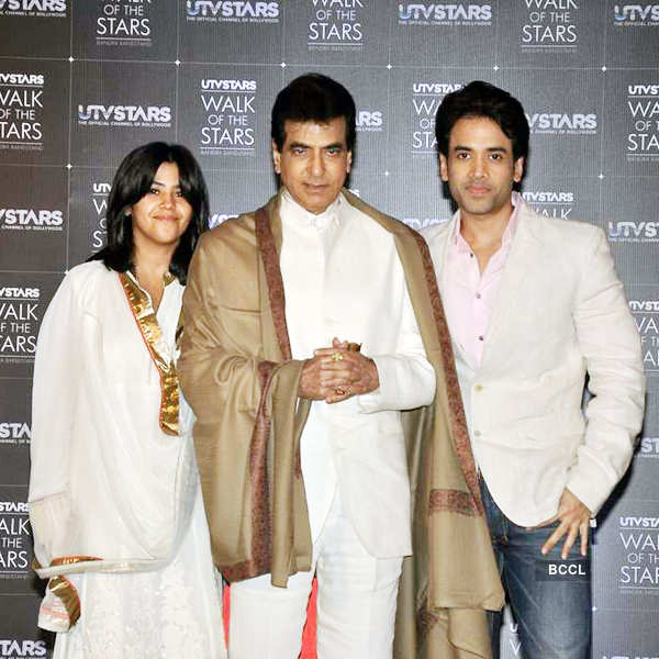 Jeetendra's hand impression launch