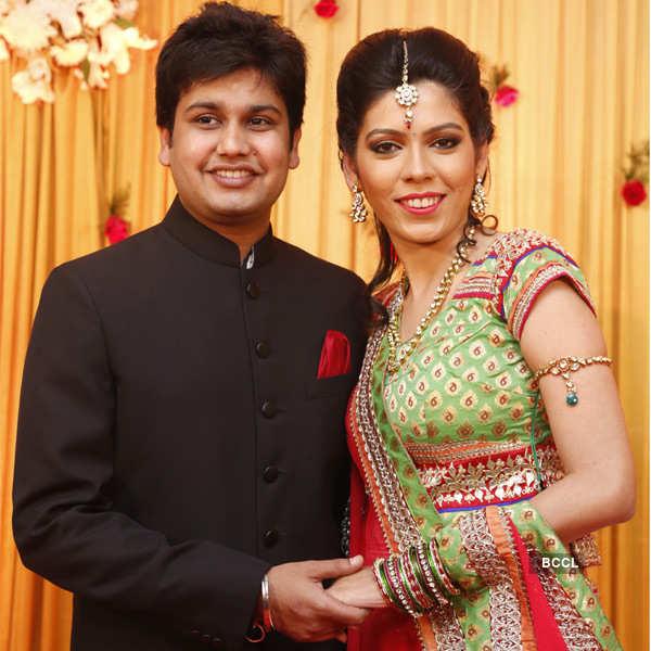 Ashwin and Harsha's wedding reception