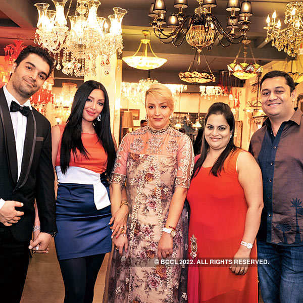 Parindu and Bansi Mehta's party