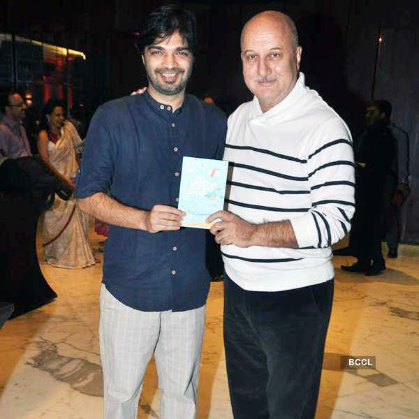 Anupam at book launch