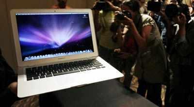 World's thinnest laptop