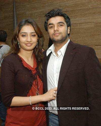 Rumana And Latif At The Valentine's Party At Ashoka Hotel