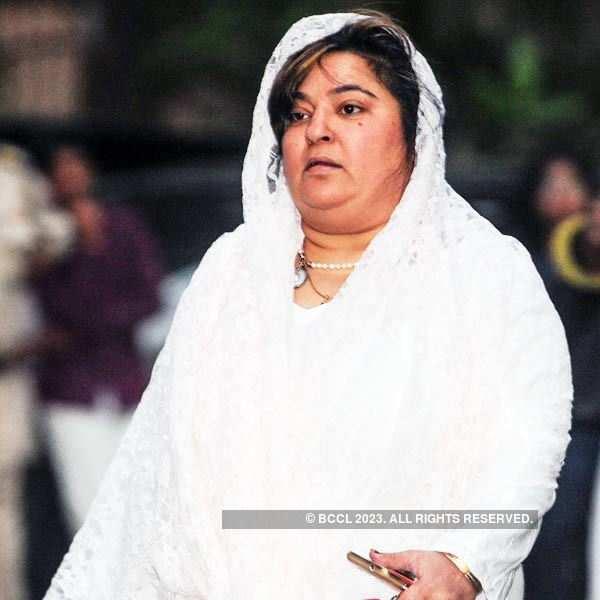 Farooq Shaikh's funeral