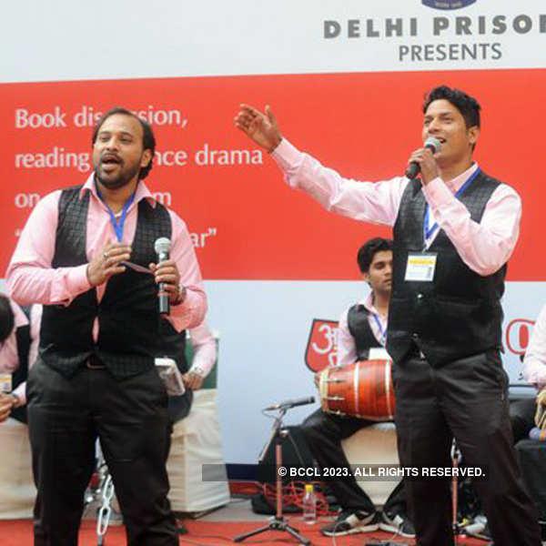 Album launch @ Tihar jail