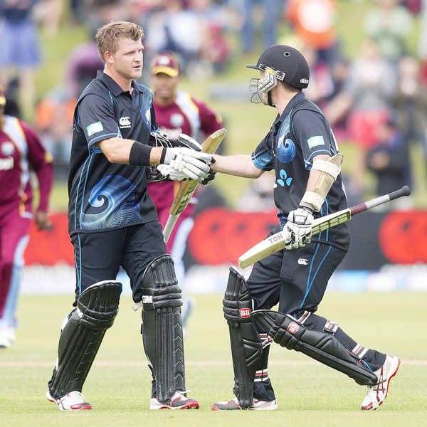 New Zealand overwhelm West Indies by 159 runs