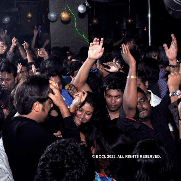 New Year party at Underground