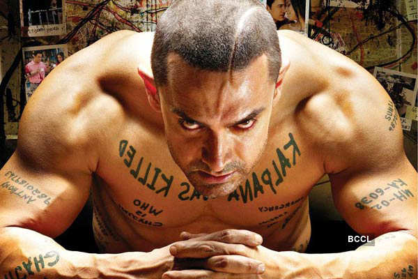 Aamir Khan goes bald for 'Ghajini'