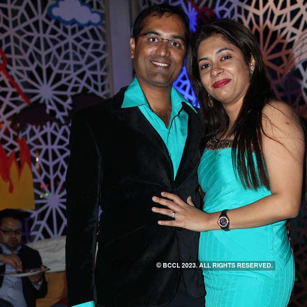New Year's Eve party at Sheraton Bangalore