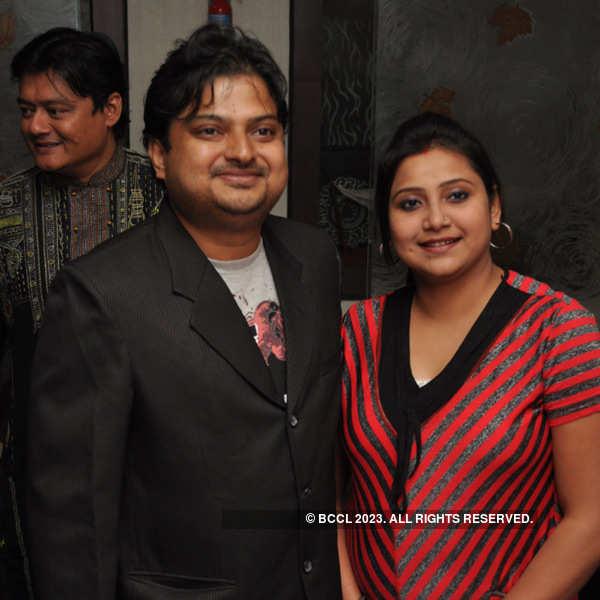 Saswata Chatterjee's birthday party