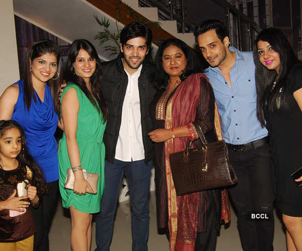 TV stars @ Rajan Shahi's party