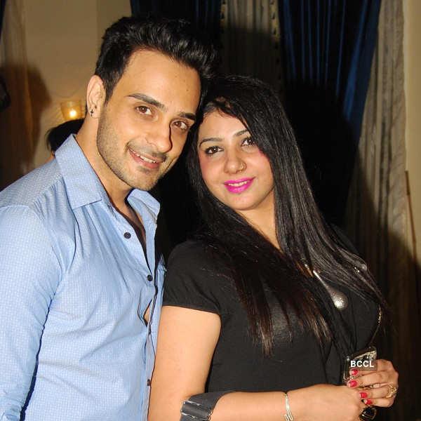 TV stars @ Rajan Shahi's party