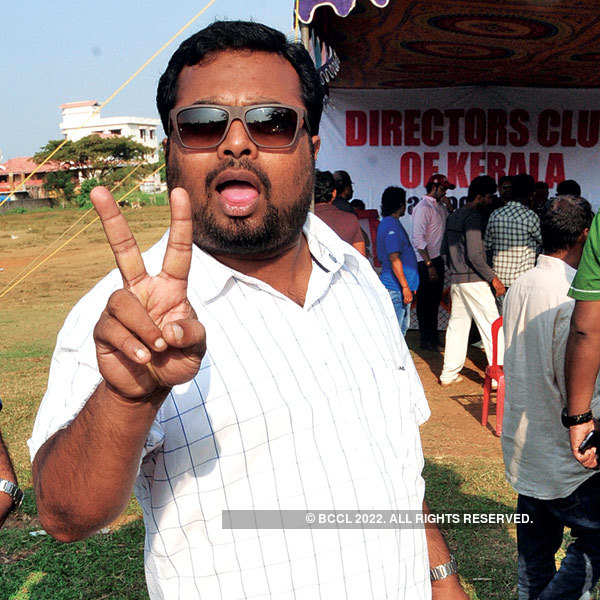 Film director's cricket league event