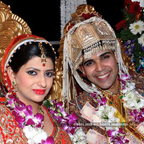 Neeraj Kapoor, Karampreet Walia's wedding