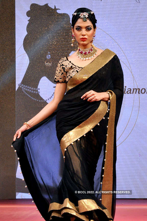 Tollywood celebs at a fashion show
