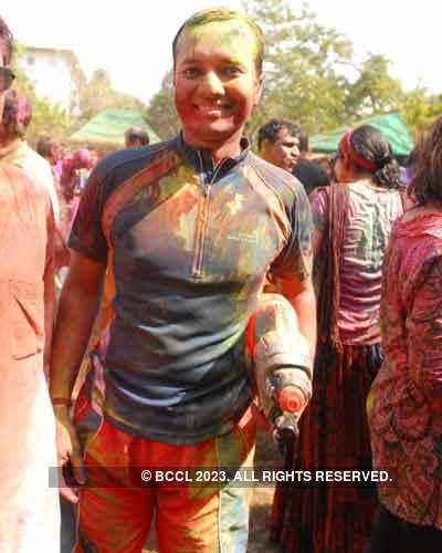 Vineet Jain's Holi Party 2008 -2