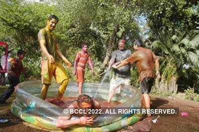 Vineet Jain's Holi Party 2008 -3