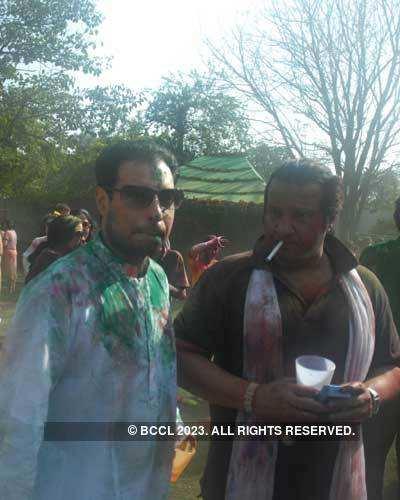 Vineet Jain's Holi Party 2008 -5