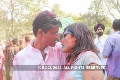 Vineet Jain's Holi Party 2008 -8
