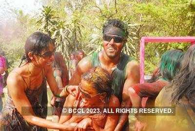 Vineet Jain's Holi Party 2008 -9