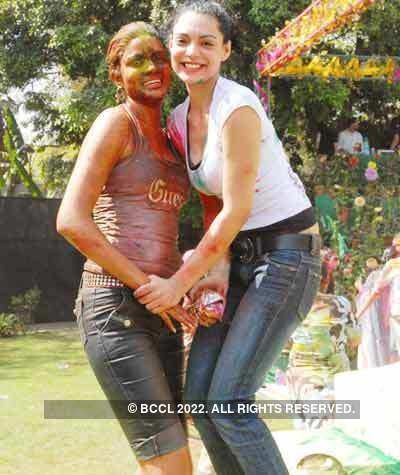 Vineet Jain's Holi Party 2008 -10