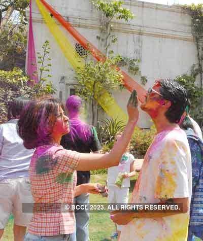 Vineet Jain's Holi Party 2008 -10