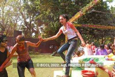 Vineet Jain's Holi Party 2008 -12